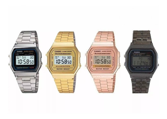 Kit C/10 Relógios Casio Vintage Promoção Para Revenda Barato