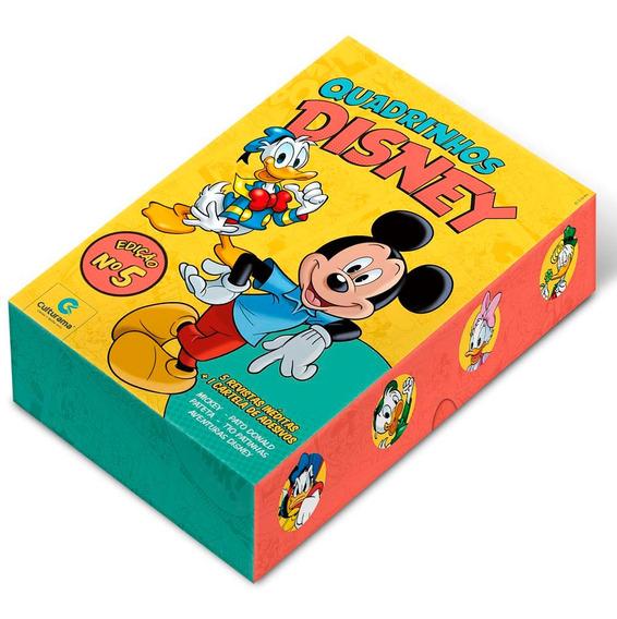 Quadrinhos Disney Culturama Edição 5 Box De Colecionador