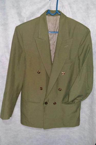 Saco De Hombre Talle 46 Color Verde