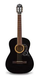 Guitarra Acústica Metálica Vizcaya Arfg94 Negra