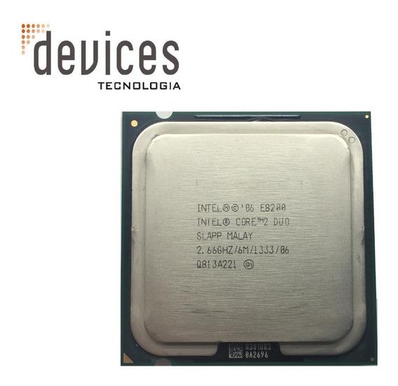 Processador Intel Core 2 Duo E8200 Slapp 2.66ghz - Usado