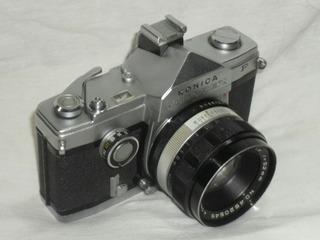 Camara Konica Autorex P Unica 35mm Hexanon 52mm Half Frame
