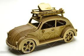 Fusca Prancha Miniatura 3d