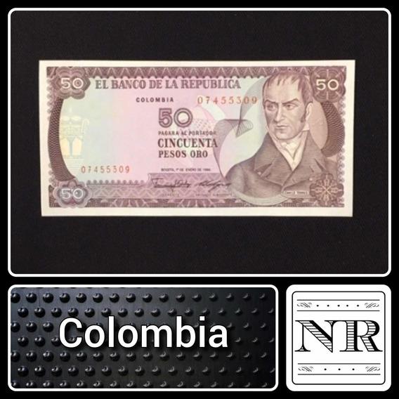 Colombia - 50 Pesos - Año 1986 - P # 425