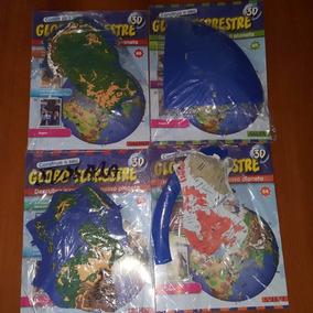 Coleção Globo Terrestres Salvat Farios Faciculos