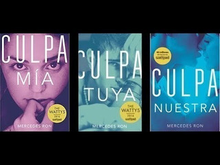 Colección Libros Culpa Mia , Tuya, Nuestra
