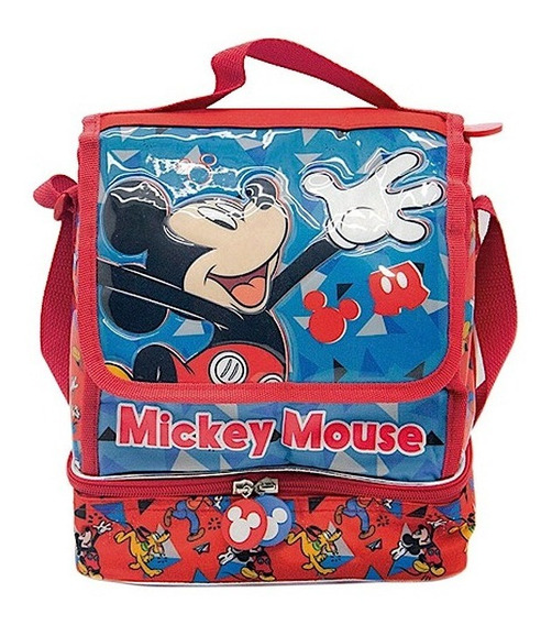 Lunchera Termica Mickey Mouse Disney Original Infantil