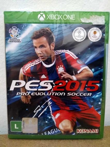 Xbox One Pes 2015! Mídia Física! Novo E Lacrado