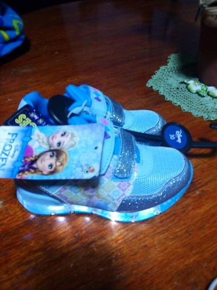 Zapatillas Niña Disney Frozen Con Luces