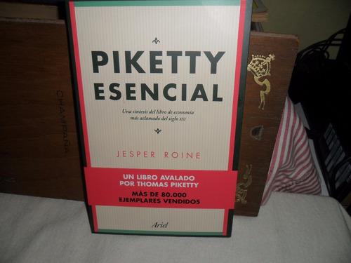 Piketty Esencial -jesper Roine