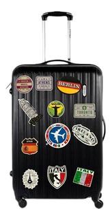 Adesivos Retrô Malas Viagem Kit Com 100 Adesivos Diferentes