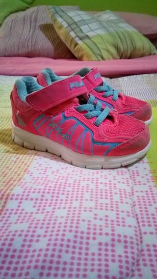 Zapatos Deportivos Fila De Niña