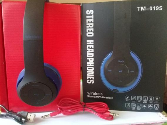 Fone De Ouvido Via Bluetooth Tm 019s