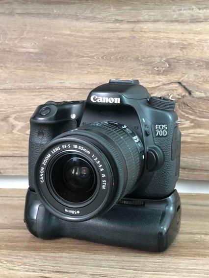 Canon 70d + Grip E 18-55mm