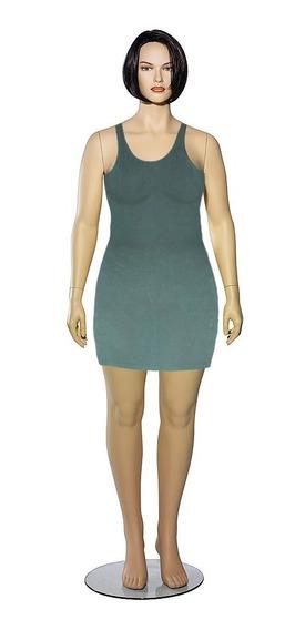 Vestido Informal Verde Talla L