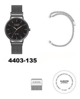 Reloj Europa By Diesel Dama 4403 135 Cierre Imantado