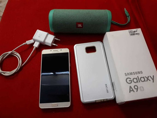 Samsung Galaxy A9 Pro 32gb + Caixa Jbl Flip 4