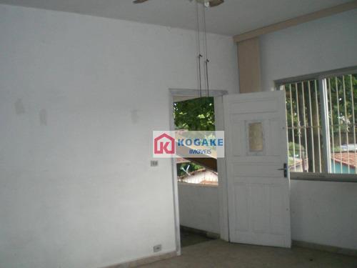 Casa Com 4 Dormitórios À Venda, 276 M² Por R$ 350.000,00 - Jardim São Dimas - São José Dos Campos/sp - Ca2754