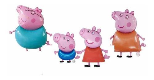 Imagen 1 de 2 de Globos Para Decorar Cumpleaños De Peppa Pig Y Su Familia