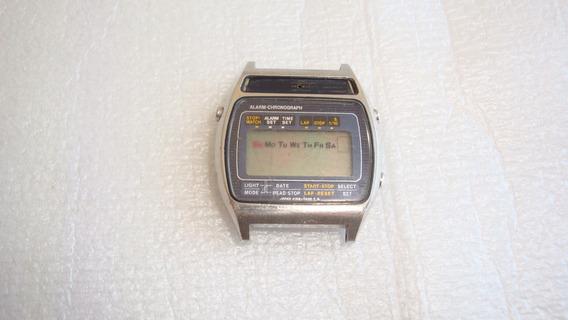 Relogio Digital A158-5050a Seiko Quebrado P Retirada Peças