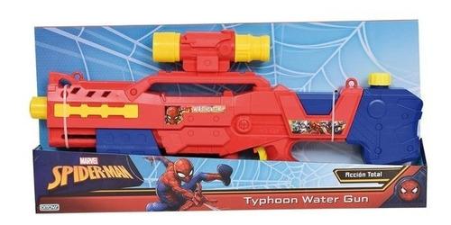Imagen 1 de 2 de Pistola De Agua Spiderman Typhoon Water Gun (4467)