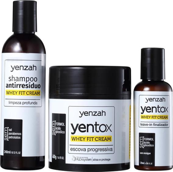 Yenzah Yentox Whey Fit Cream Kit (3 Produtos)