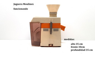 Antigua Juguera Moulinex Usada Funcionando (4178)