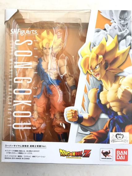 Sh Figuarts Son Goku Super Saiyajin Warrior Awakening Bandai