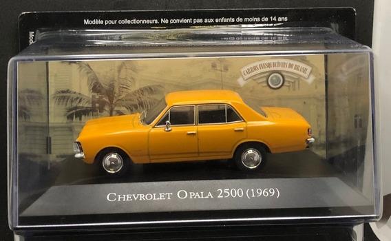 Chevrolet Opala 2500 1969 1/43 + Fascículo