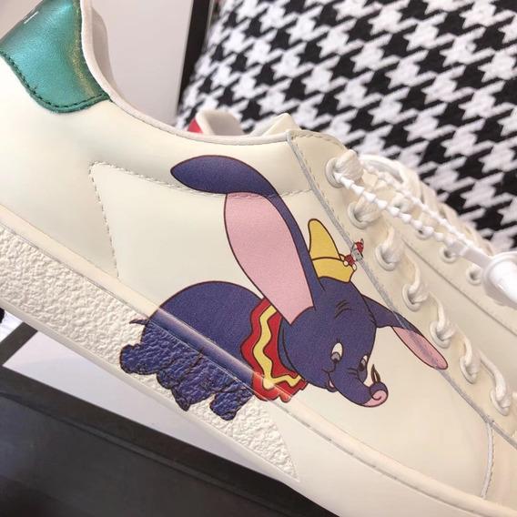 Tênis Gucci Ace Disney 50 Lindoo! Frete Grátis!