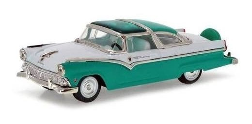 1955 Ford Crown Victoria Turquesa - 1:43 - Yat Ming