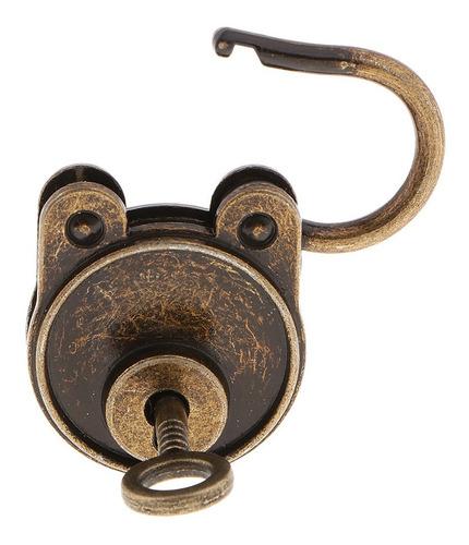 Imagen 1 de 8 de Candados De Bronce Vintage Mini Lockers Hardware Para Bolsa