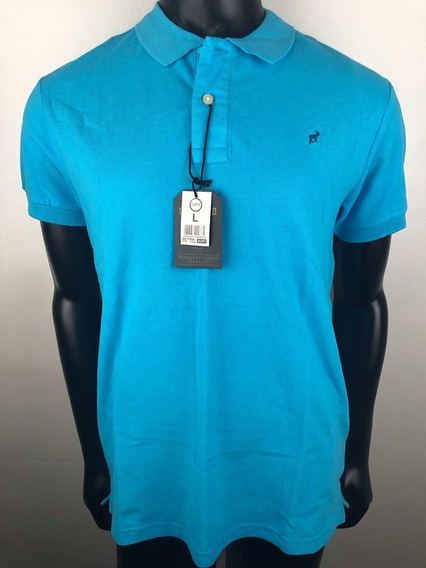 Polera Polo Pique Greenfield Outfitters6 Colores 100%algodon