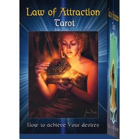 Law Of Attraction Tarot Kit (livro + Deck) Novo Lacrado