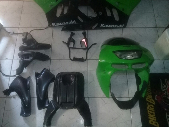 Kit De Carenagem Kawazaki Ninja Zx9