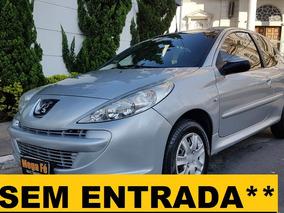 Peugeot 207 1.4 Xr Flex 3p Completo Sem Entrada**