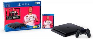 Consola Play Station 4 + Fifa 2020 + 1 Joystick Ps4 2055