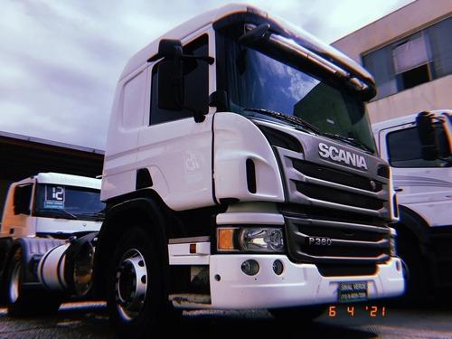 Scania P 360 2017 Toco P340 G 380  Cavalo Mecânico P360 4x2