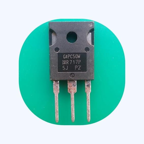 G4pc50w (4 Unidade) Transistor Igbt Irg4pc50w (frete Carta )
