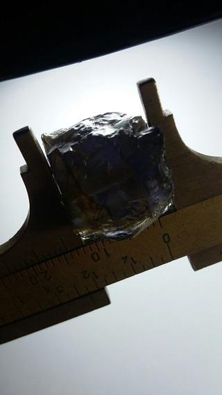 Natural Pedras Safira Dágua Cores Roxo E Acinsentado 4.4 G