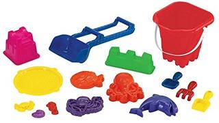 American Plastic Toys 15 Piezas Beach Set De Juguetes