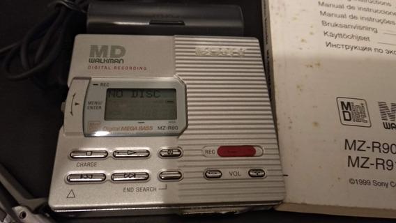 Md Walkman Sony Mz-r90 Digital Recording