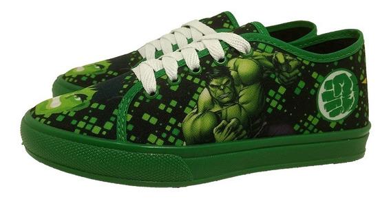 Tênis Hulk Masculino Meninos Personagens Promoção