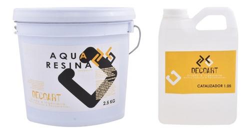 Resina Epoxica Transparente Aqua A+b Altos Espesores 3.55kg