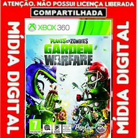 Plants Vs Zombies Garden Warfare Jogo Xbox 360 Digital Comp.
