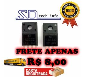 2pares- Transistor C6144 E A2222 -epson L355 L210 L365 Xp214