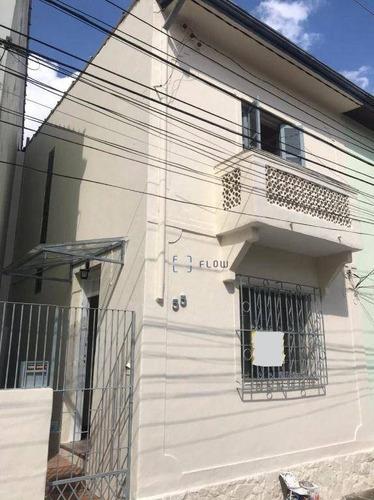 Imagem 1 de 12 de Casa Residencial 2 Dormitórios, 70 M² Por R$ 2.270/mês - Mirandópolis - Ca1885