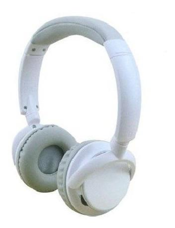 Auricular Mp3-fm-sdcard Con Bluetooth Blanco Parquer
