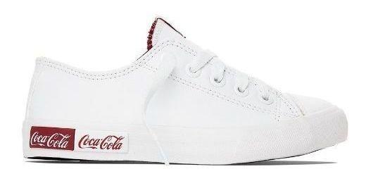 Tênis Coca Cola Blend Branco Cc1687 Original C/nota Fiscal