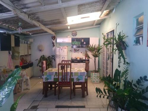 Casa Em Jardim Chaparral, Mogi Guaçu/sp De 70m² 4 Quartos À Venda Por R$ 160.000,00 - Ca835707